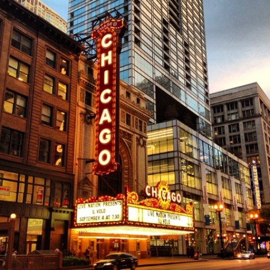 Chicago Theater by Andrea DeMers