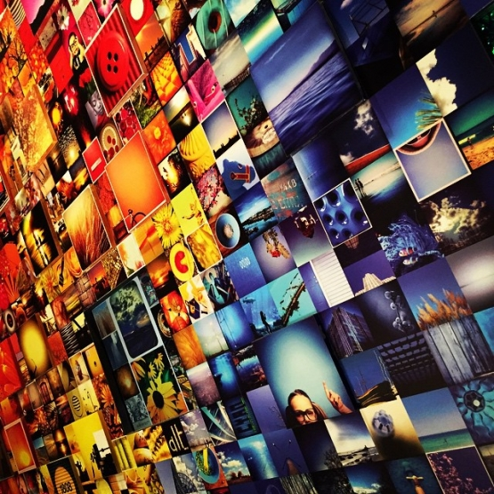 Wall of Instagram, Toronto, Canada
